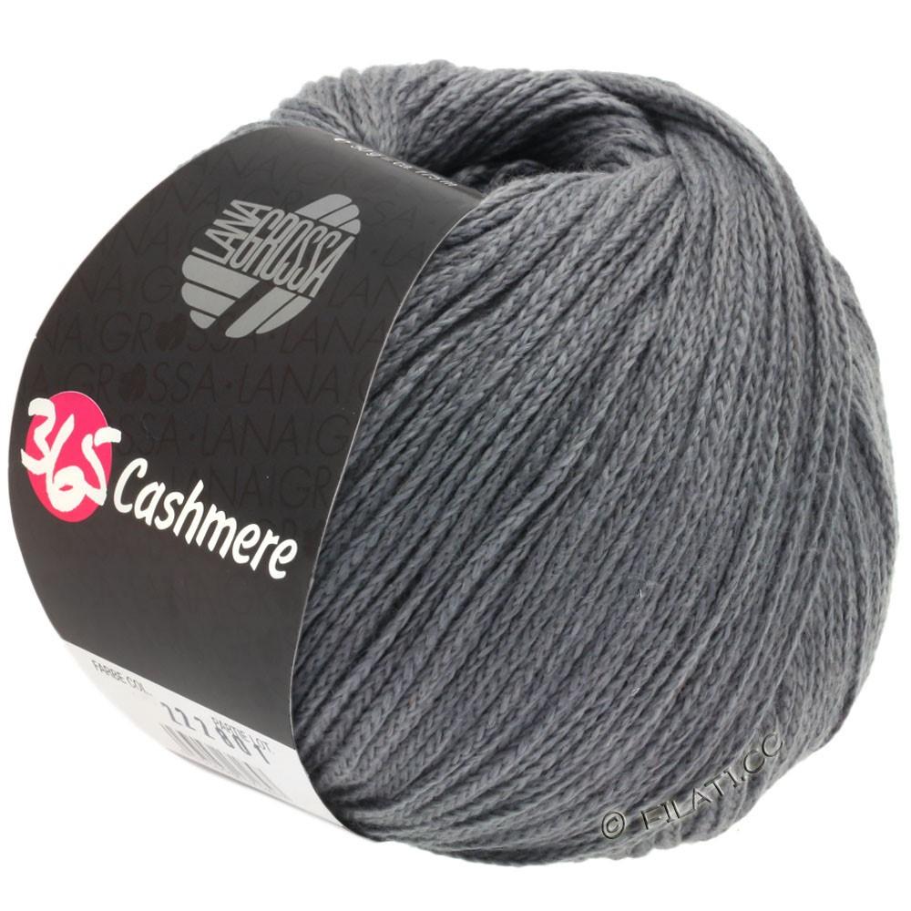 Lana Grossa 365 CASHMERE | 44-тёмно-серый