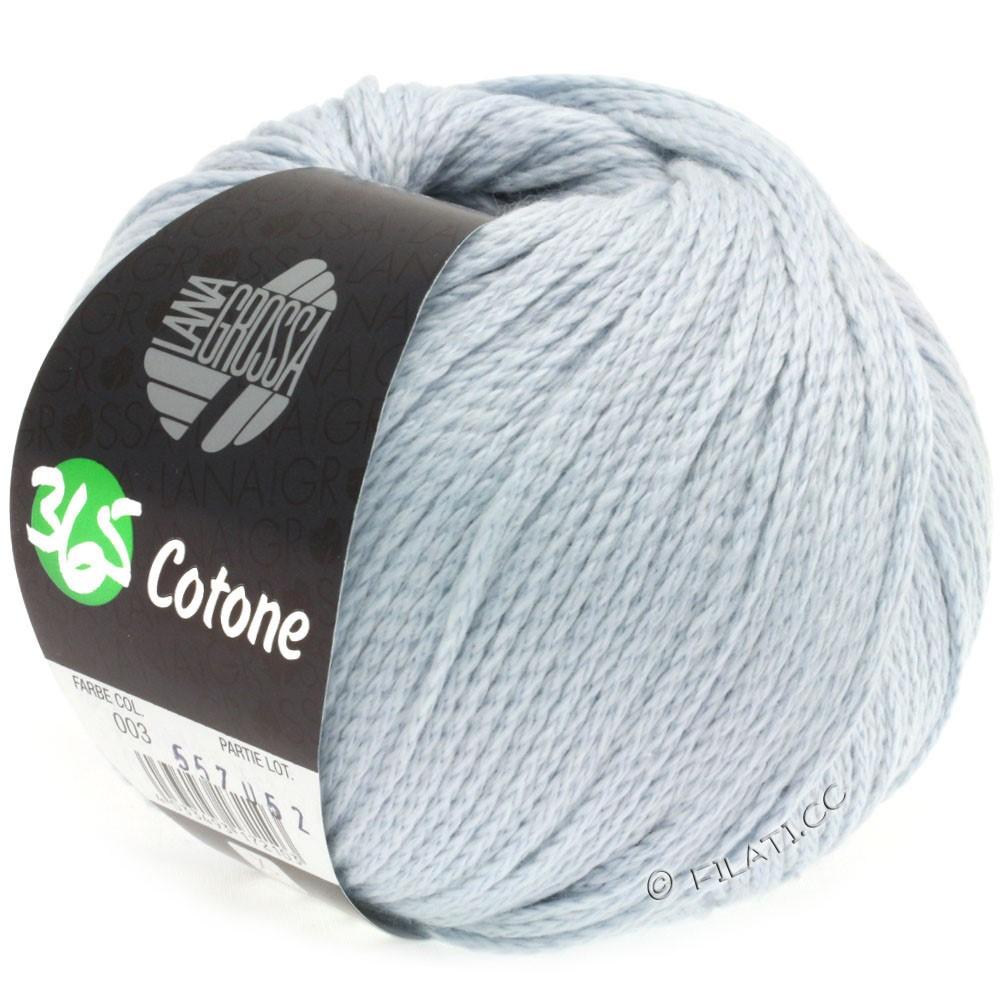 Lana Grossa 365 COTONE   03-мягко-синий