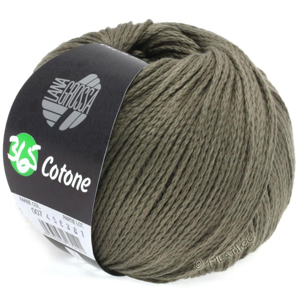 Lana Grossa 365 COTONE | 07-серо-коричневый
