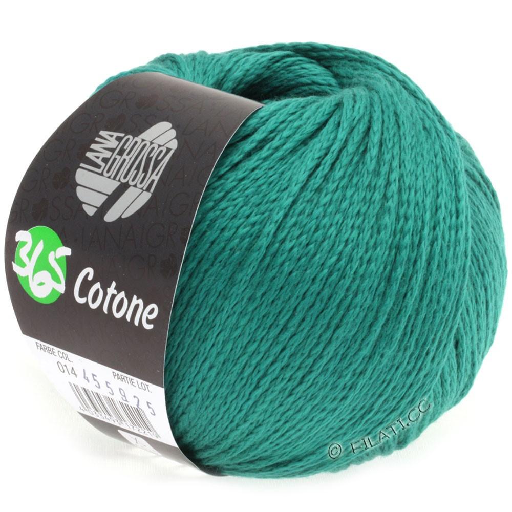 Lana Grossa 365 COTONE   14-зеленый опал
