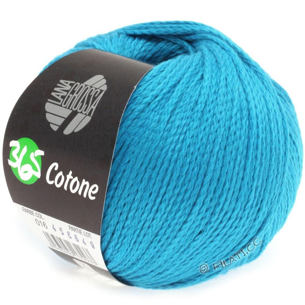 Lana Grossa 365 COTONE   16-синий