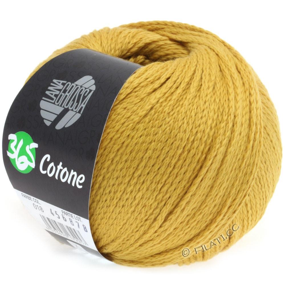 Lana Grossa 365 COTONE | 18-жёлтая кукуруза