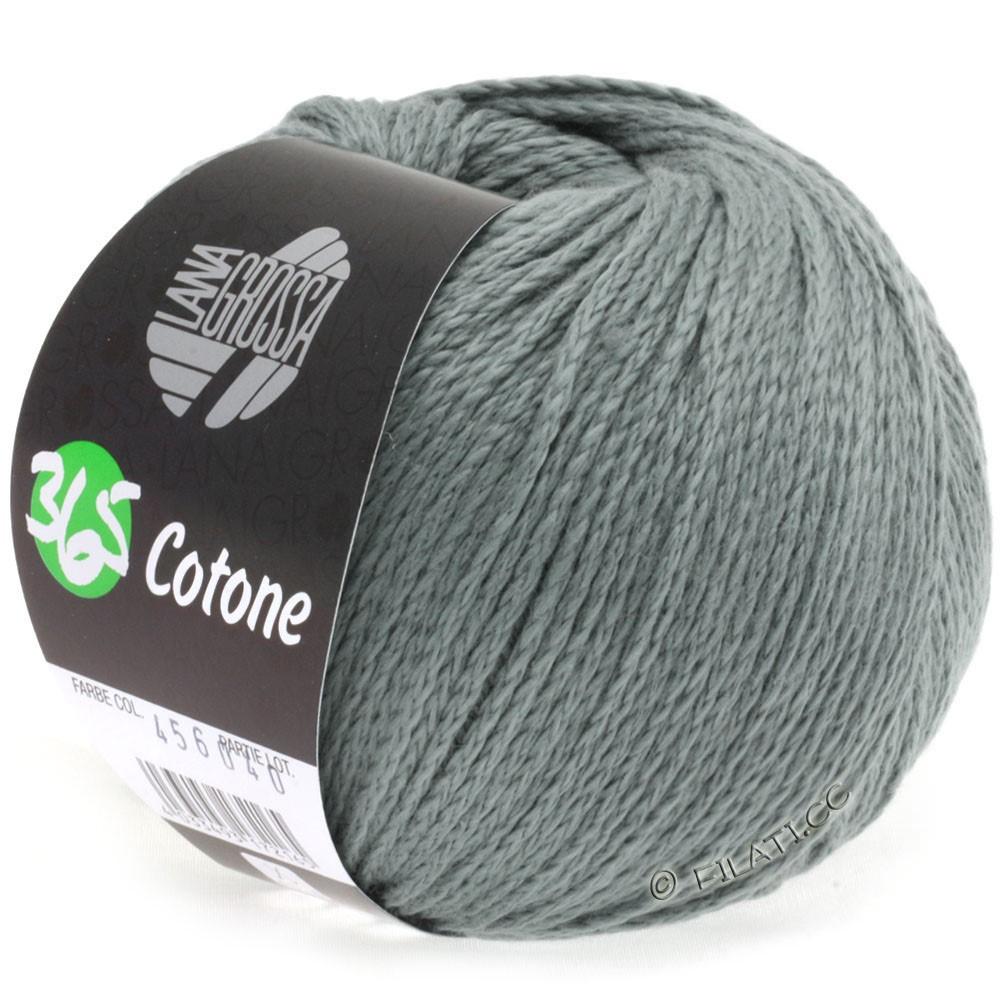 Lana Grossa 365 COTONE   19-тростник зеленый