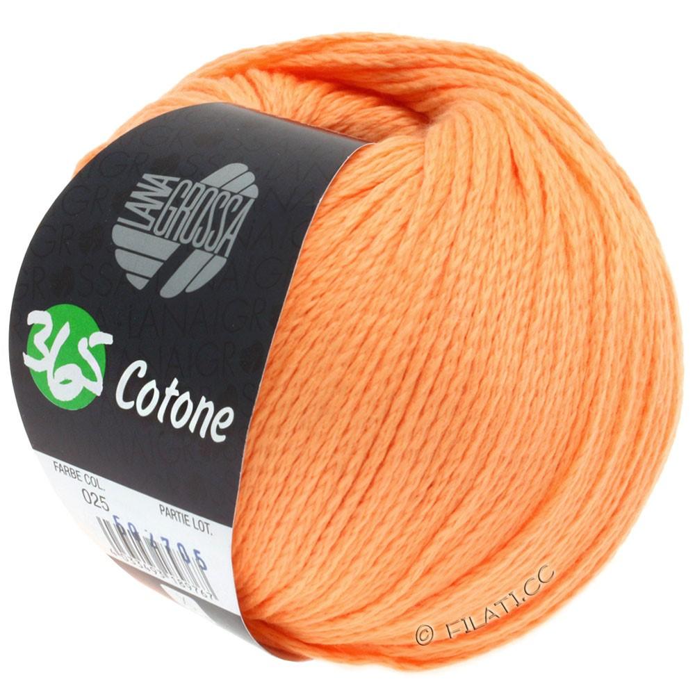 Lana Grossa 365 COTONE   25-оранжевый