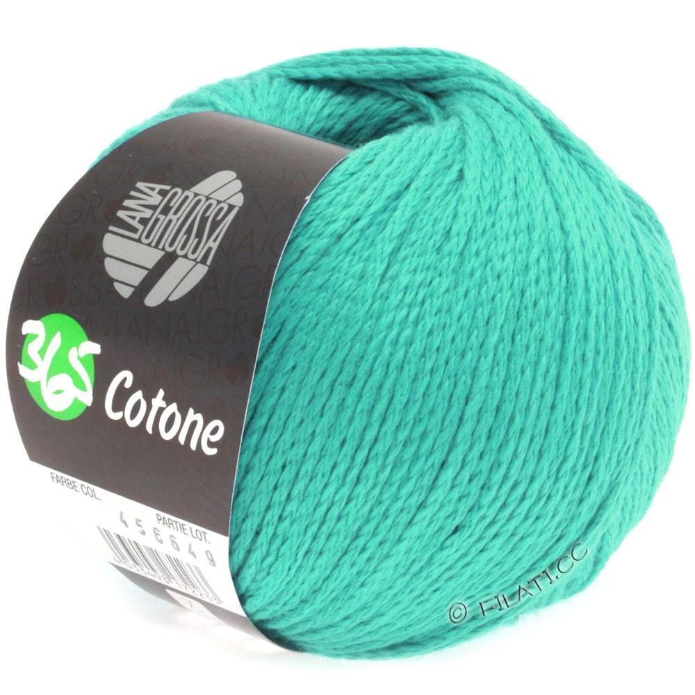 Lana Grossa 365 COTONE   26-зелено-бирюзовый