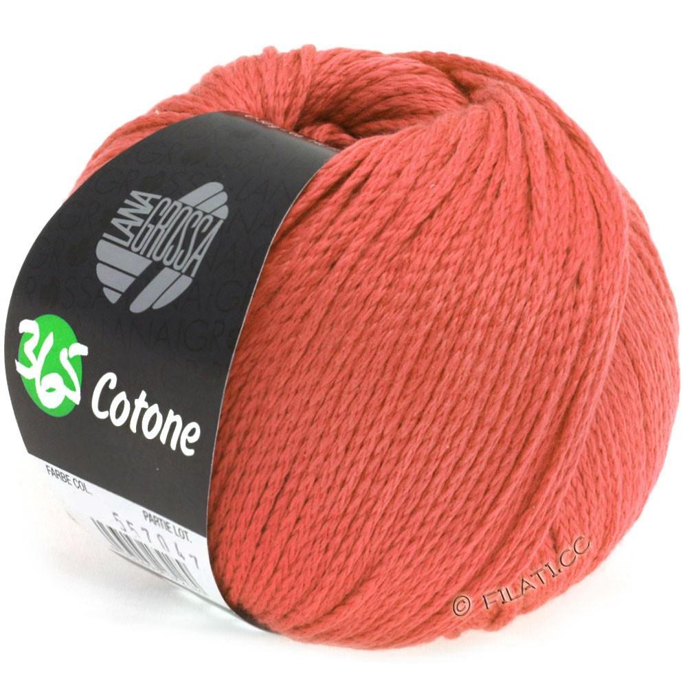 Lana Grossa 365 COTONE | 28-лосось красный