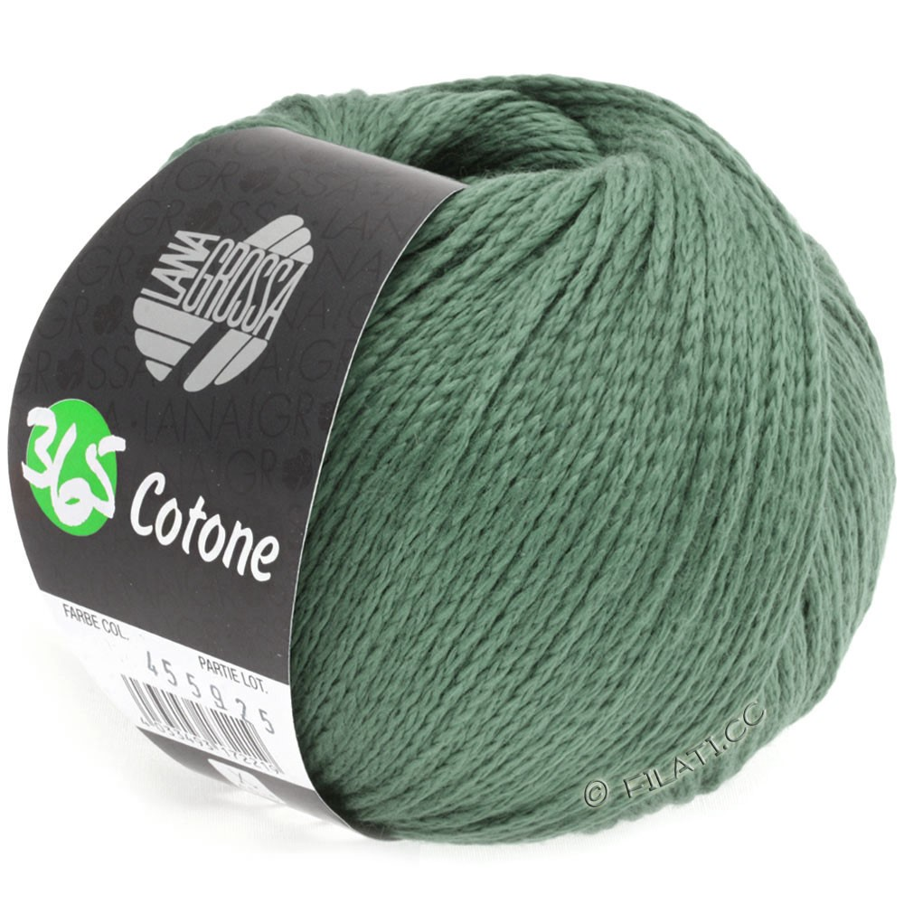Lana Grossa 365 COTONE | 30-зелёный
