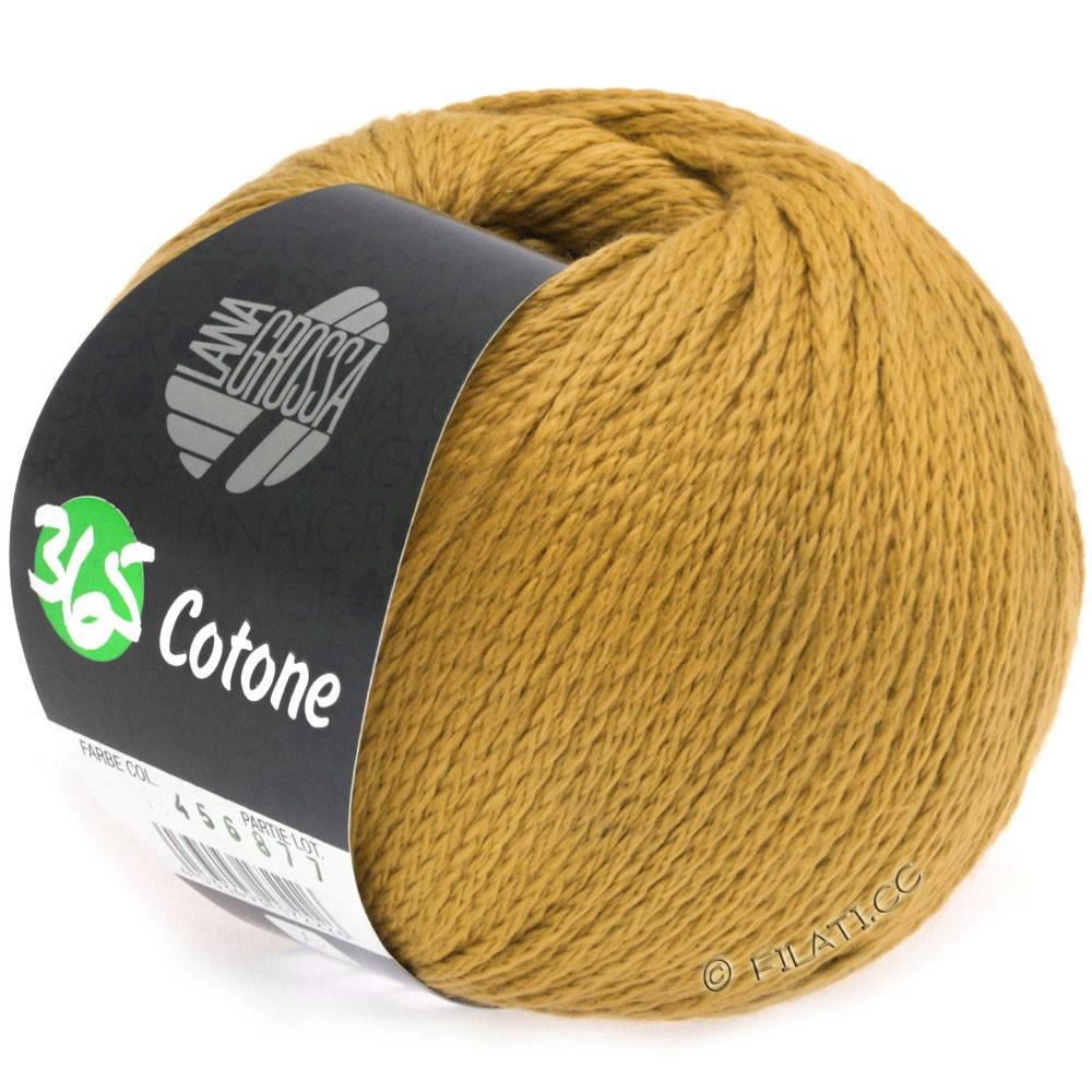 Lana Grossa 365 COTONE   31-золотисто-жёлтый