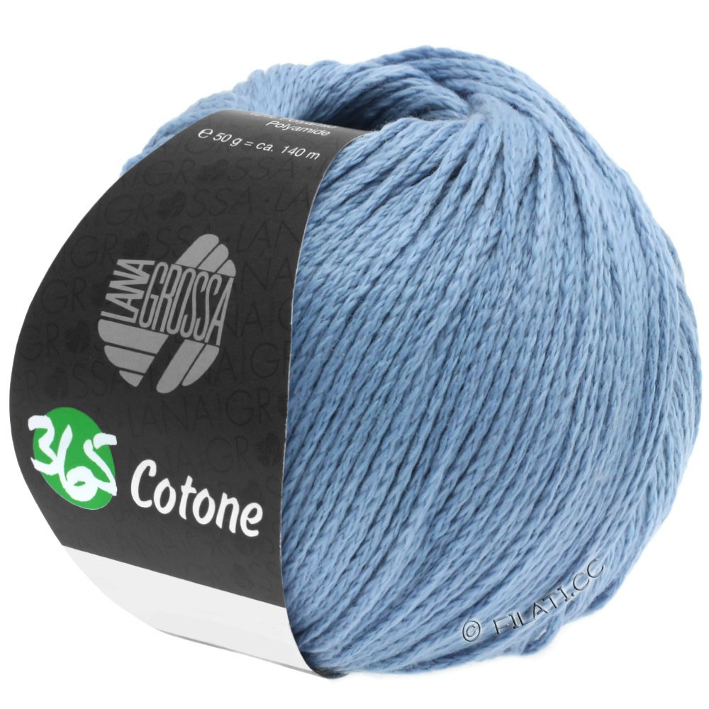 Lana Grossa 365 COTONE | 35-серо-синий