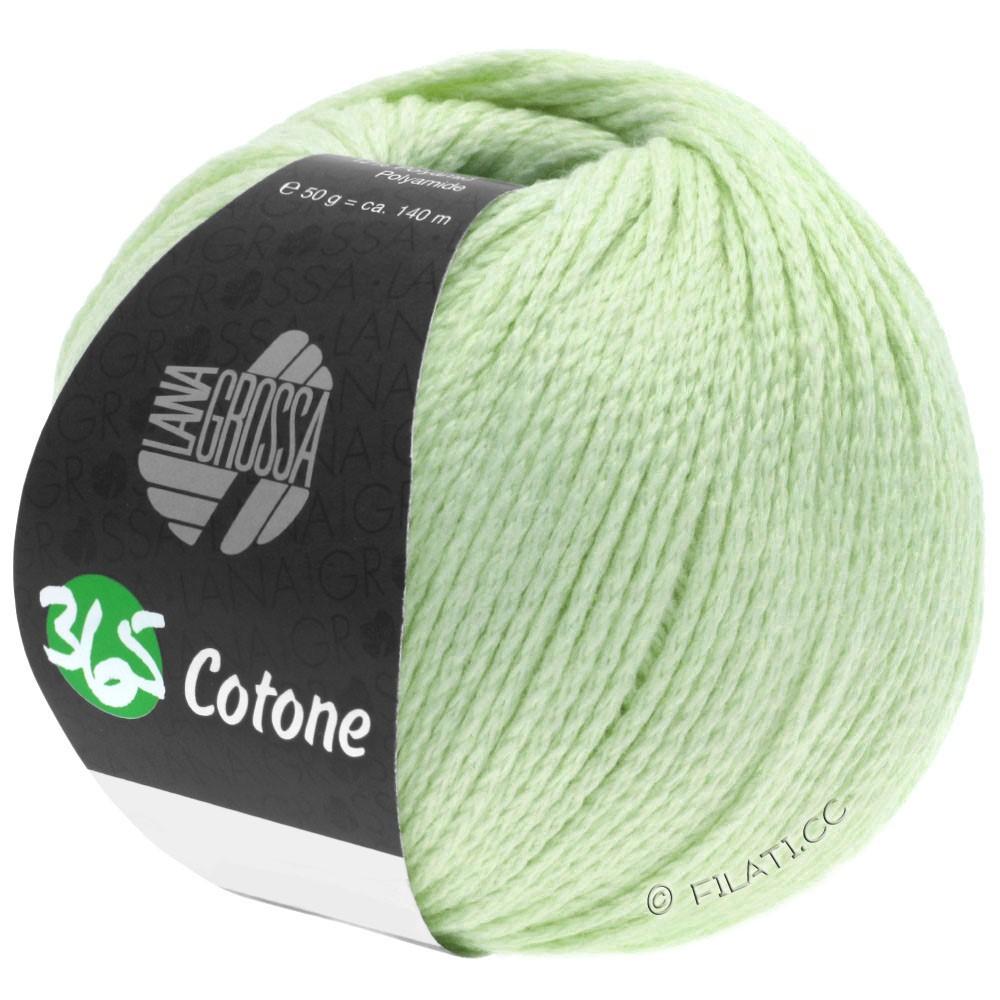 Lana Grossa 365 COTONE   37-мягко-зеленый