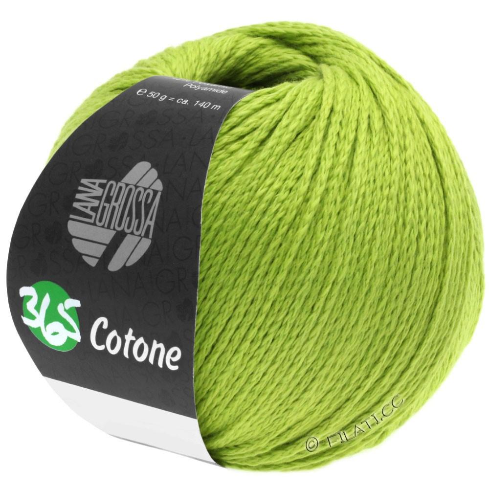 Lana Grossa 365 COTONE | 38-жёлто-зеленый