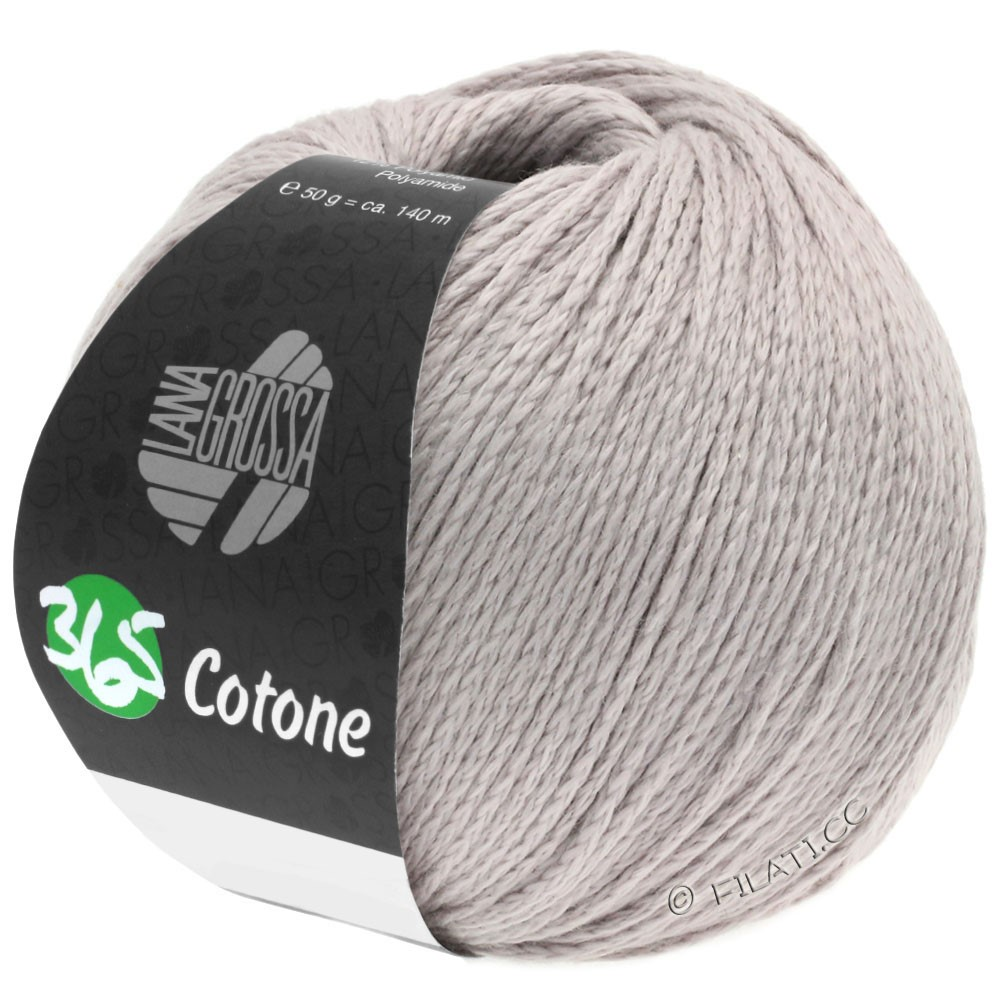 Lana Grossa 365 COTONE | 40-бледно серый