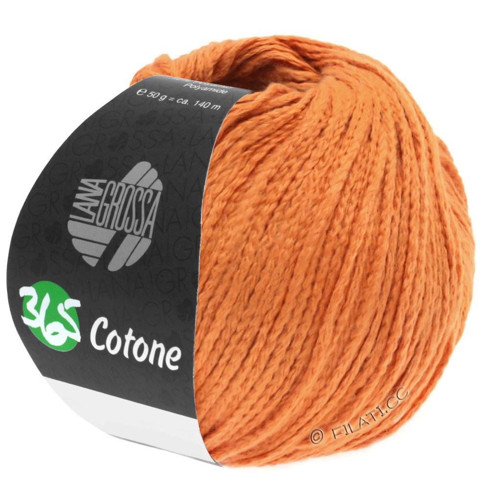 Lana Grossa 365 COTONE   42-терра оранжевый