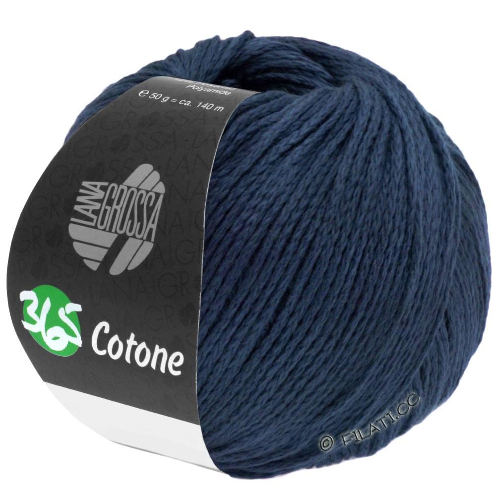 Lana Grossa 365 COTONE | 51-тёмно-синий