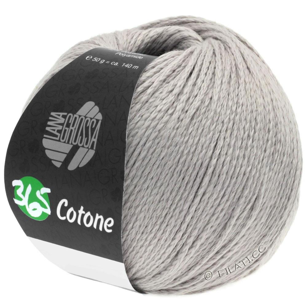 Lana Grossa 365 COTONE | 52-серебристо-серый