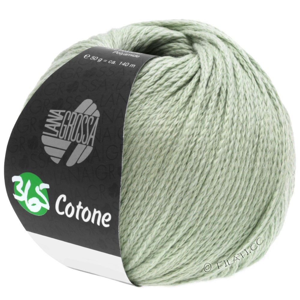 Lana Grossa 365 COTONE | 53-серо-зеленый
