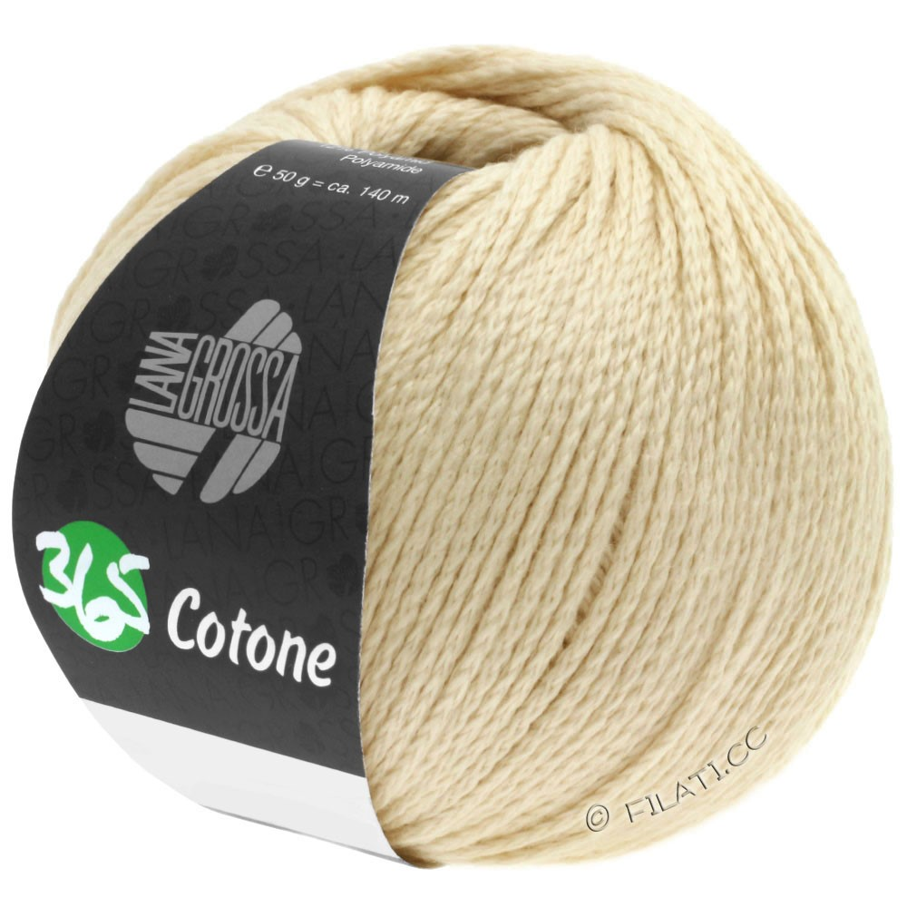 Lana Grossa 365 COTONE | 54-мягко-желтый