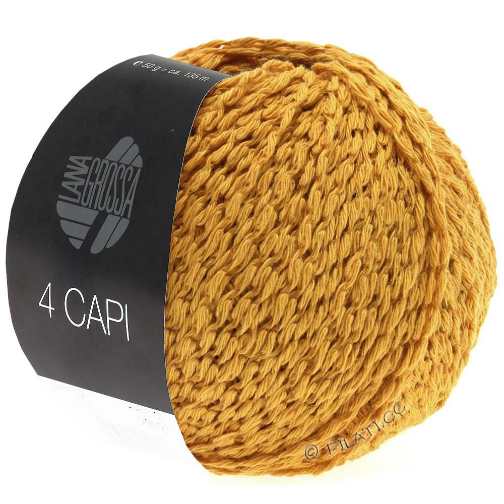Lana Grossa 4 CAPI | 02-желтое солнце
