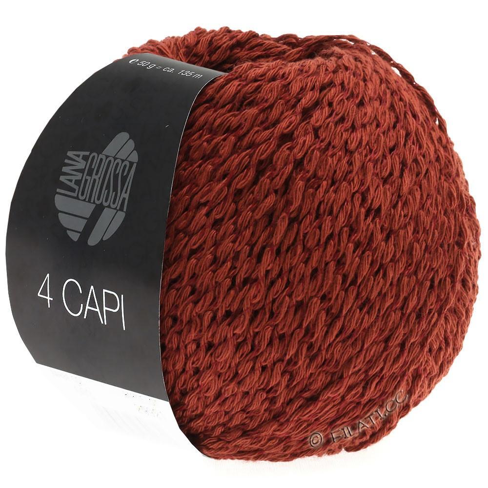 Lana Grossa 4 CAPI | 03-красно-коричневый