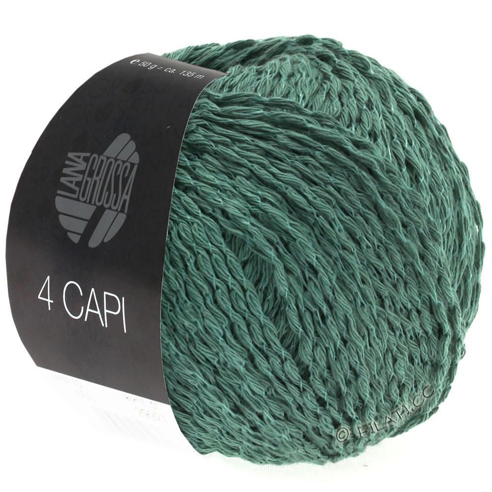 Lana Grossa 4 CAPI | 05-нефритово-зеленый