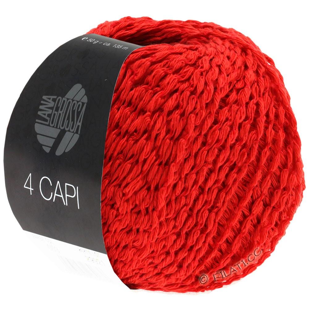 Lana Grossa 4 CAPI | 07-красный