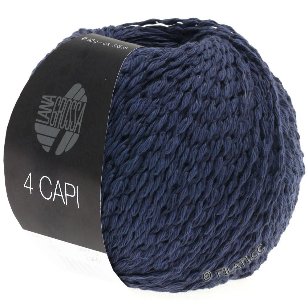 Lana Grossa 4 CAPI | 08-тёмно-синий