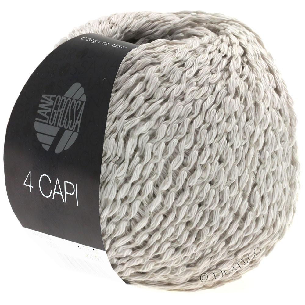 Lana Grossa 4 CAPI | 09-мягко-серый