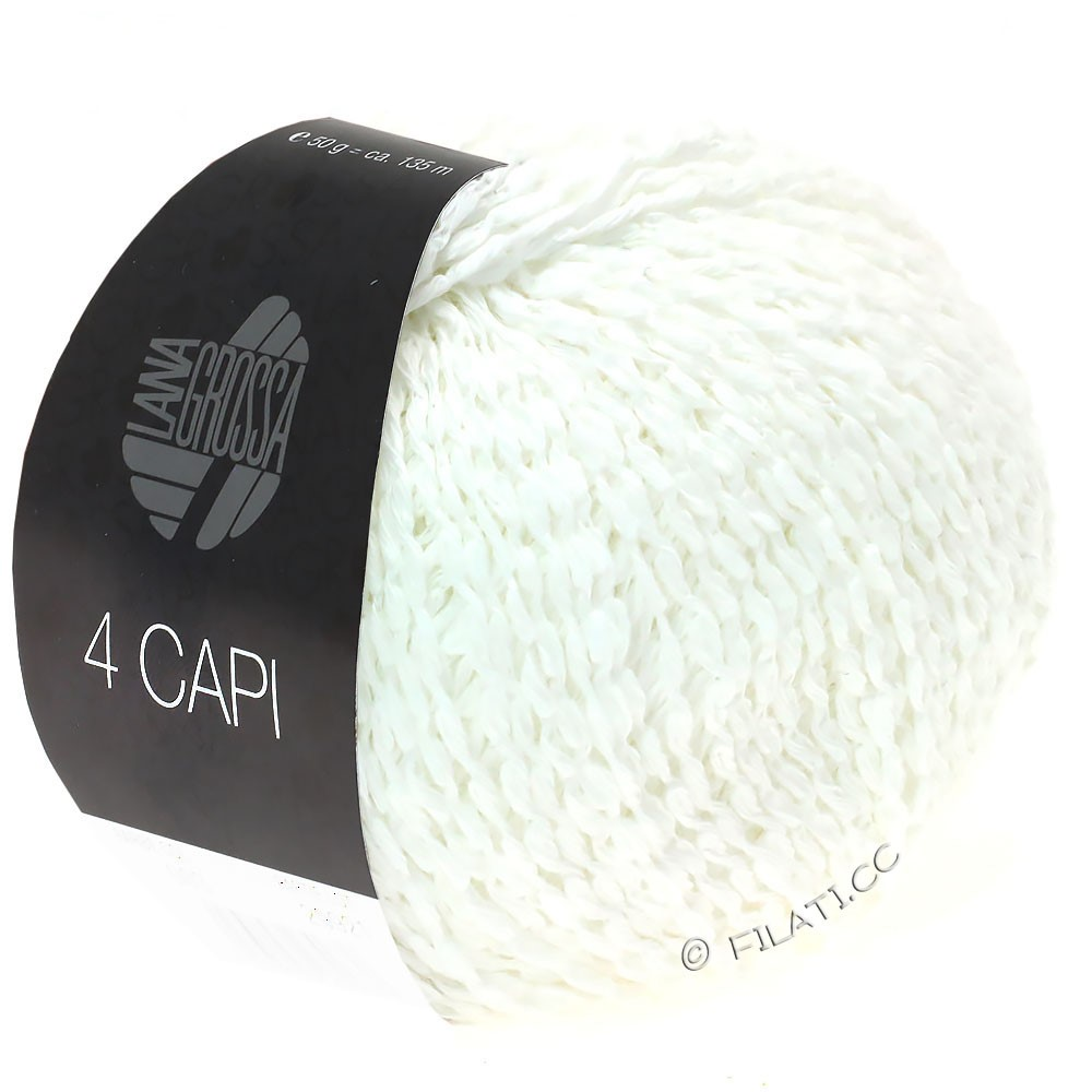 Lana Grossa 4 CAPI | 11-белый
