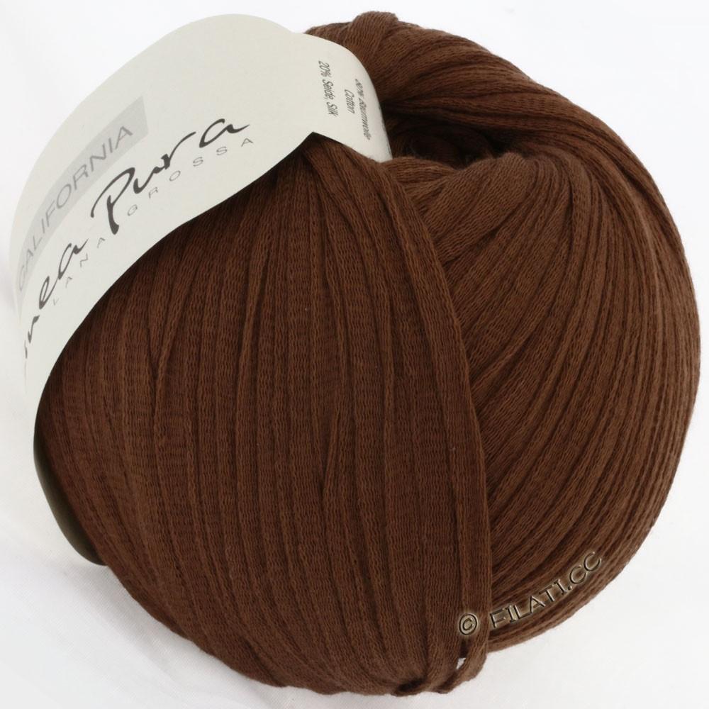 Lana Grossa CALIFORNIA Uni/Print (Linea Pura) | 009-коричневый