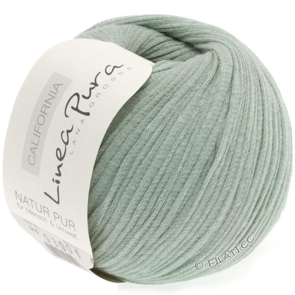 Lana Grossa CALIFORNIA Uni/Print (Linea Pura) | 015-серо-зеленый