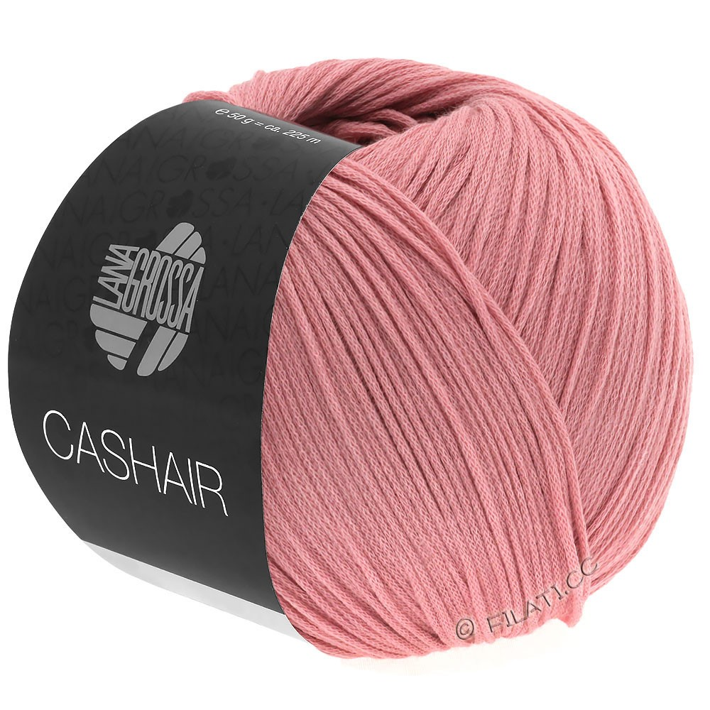 Lana Grossa CASHAIR | 02-ветхо-розовый