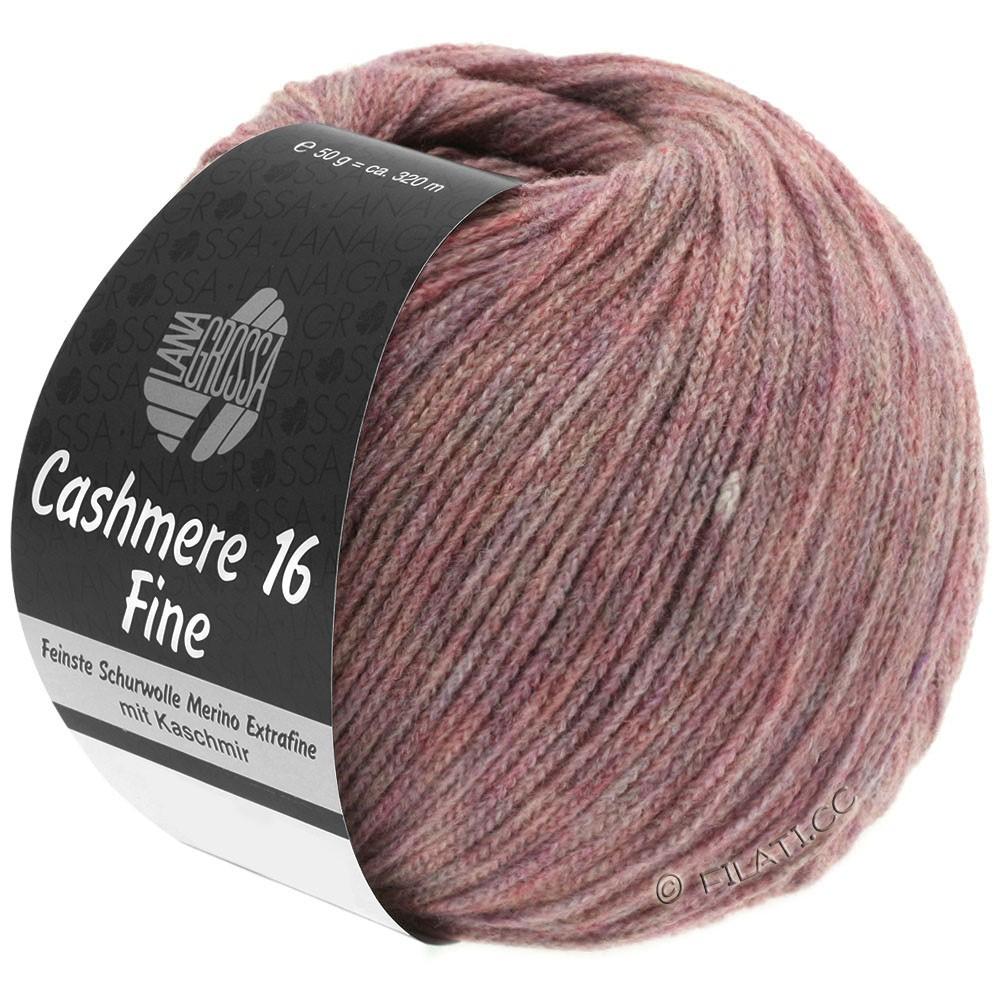 Lana Grossa CASHMERE 16 FINE Uni/Degradé | 001-розовое дерево