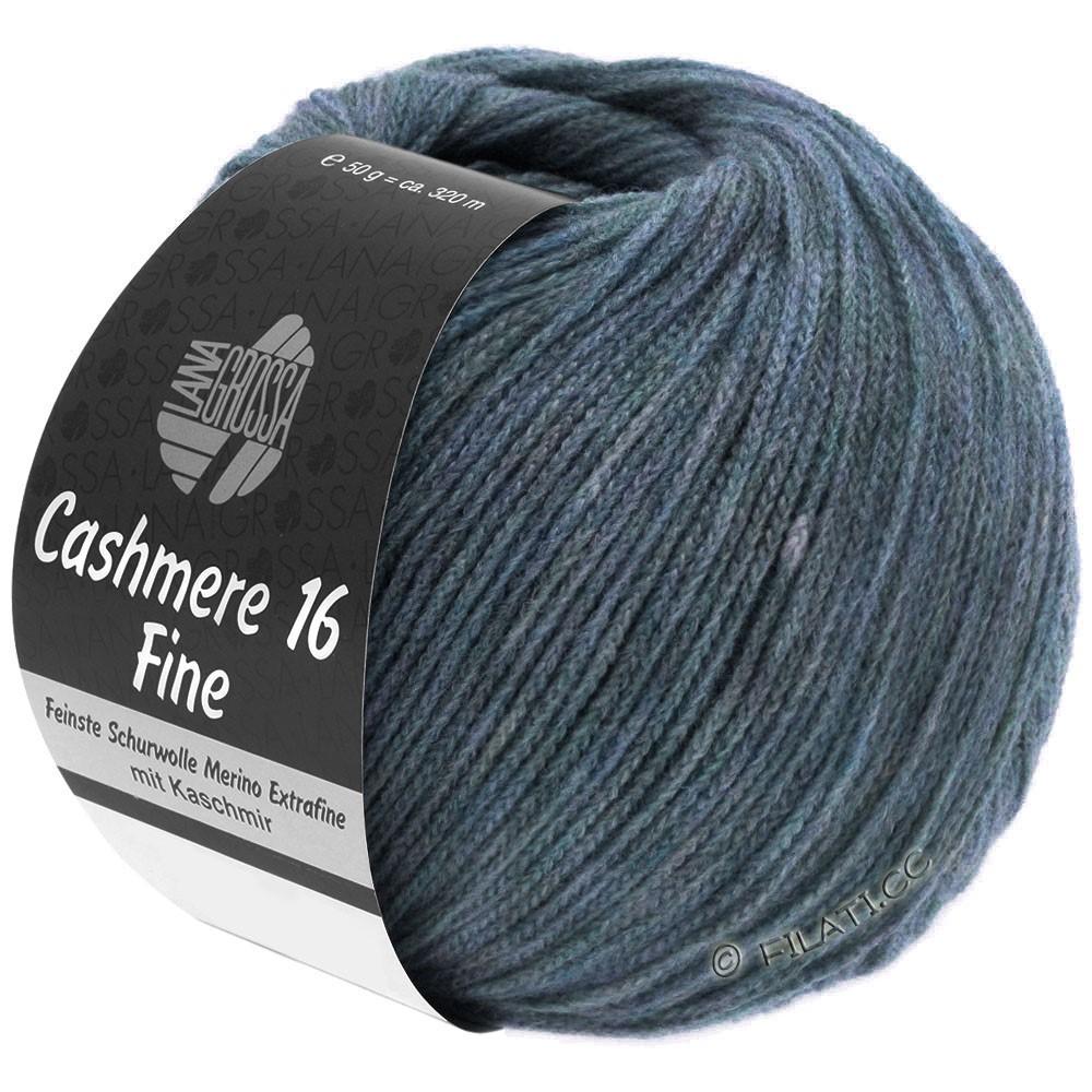 Lana Grossa CASHMERE 16 FINE Uni/Degradé | 005-серый синий