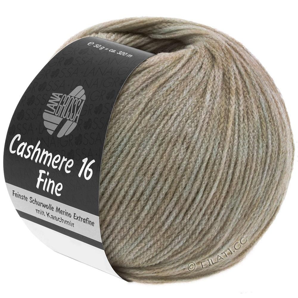 Lana Grossa CASHMERE 16 FINE Uni/Degradé | 007-серо-коричневый