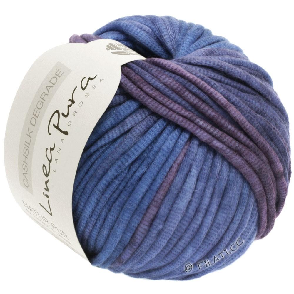 Lana Grossa CASHSILK Degradé (Linea Pura) | 101-слива/синяя фиалка/лавандовый