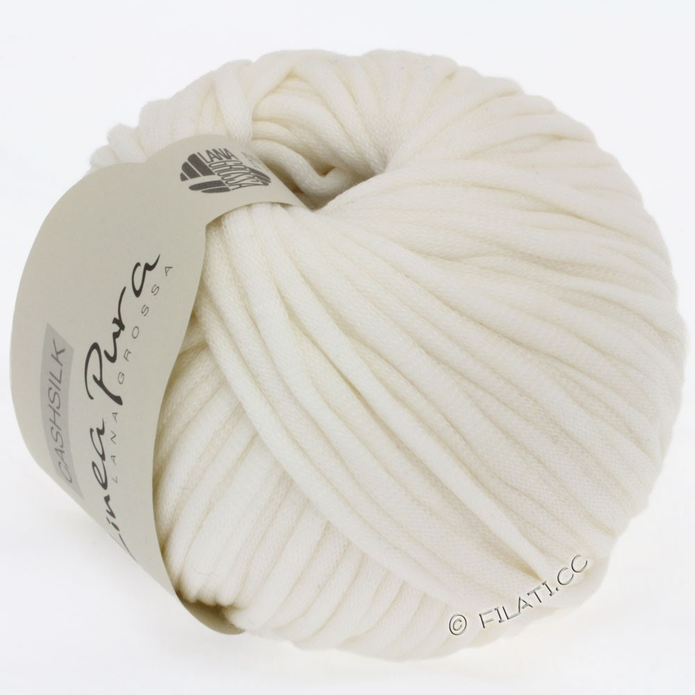 Lana Grossa CASHSILK (Linea Pura) | 08-чисто-белый