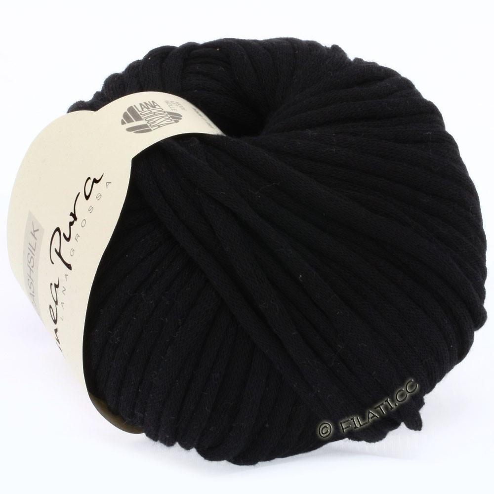 Lana Grossa CASHSILK (Linea Pura) | 15-чёрный