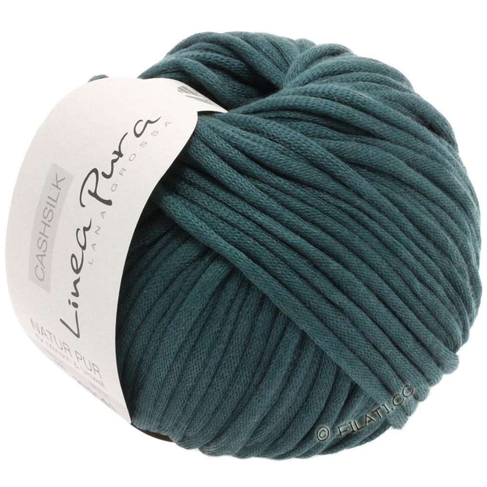 Lana Grossa CASHSILK (Linea Pura) | 44-тёмно сине-зеленый