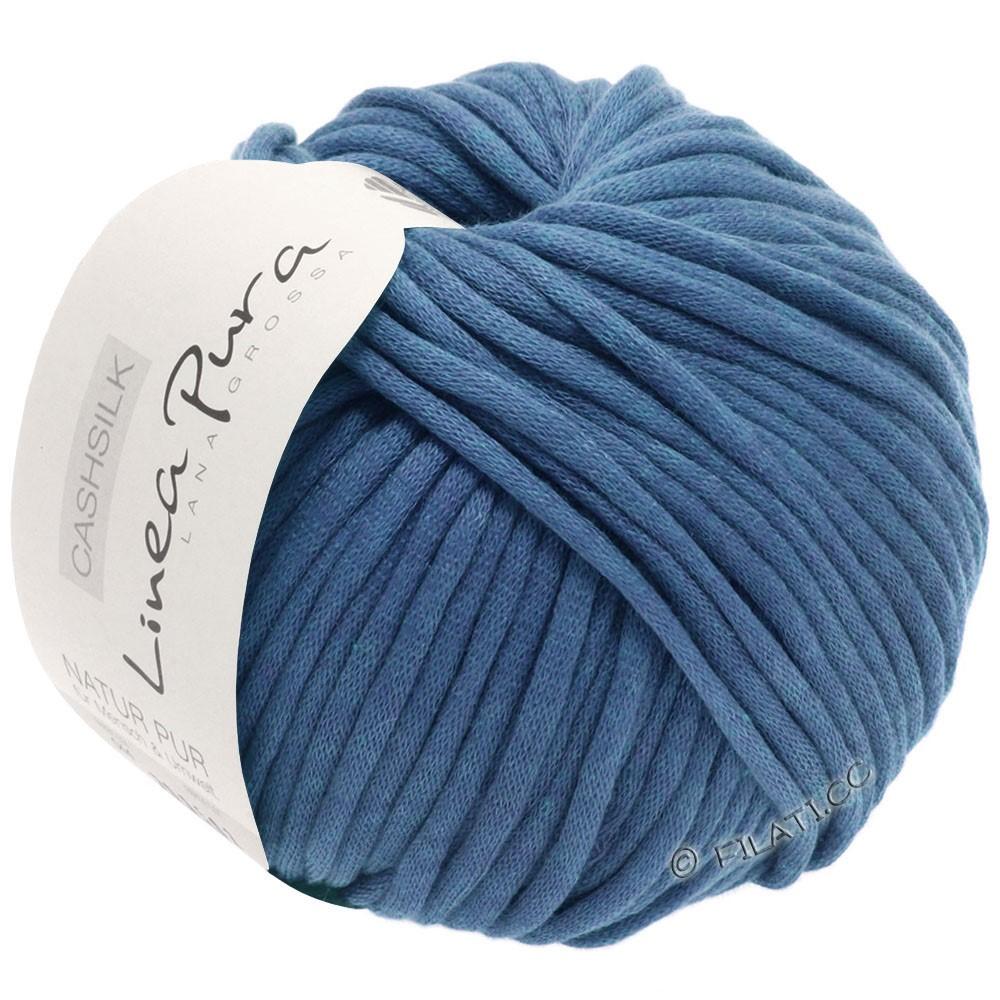 Lana Grossa CASHSILK (Linea Pura) | 52-синяя сталь