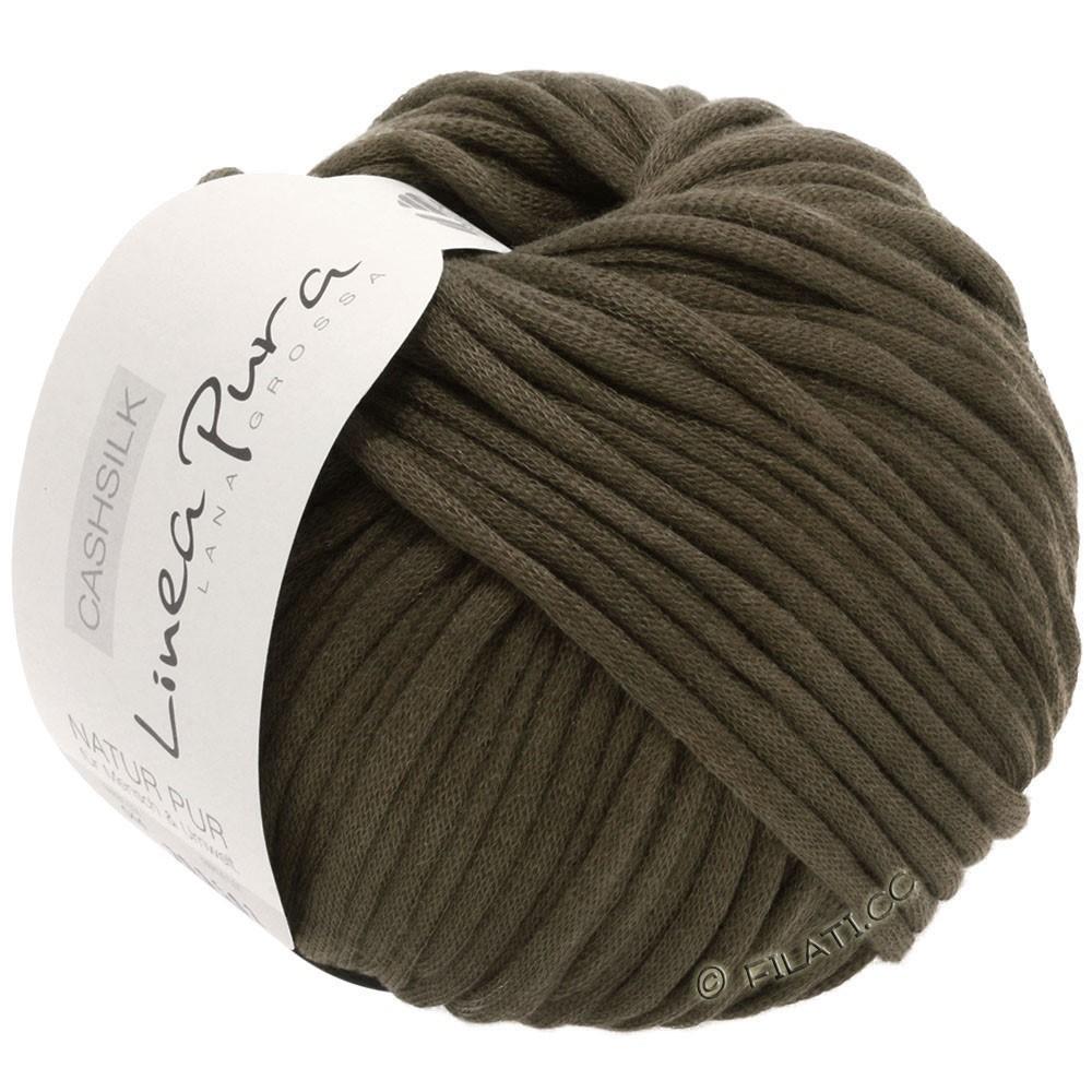 Lana Grossa CASHSILK (Linea Pura) | 59-чёрно-коричневый