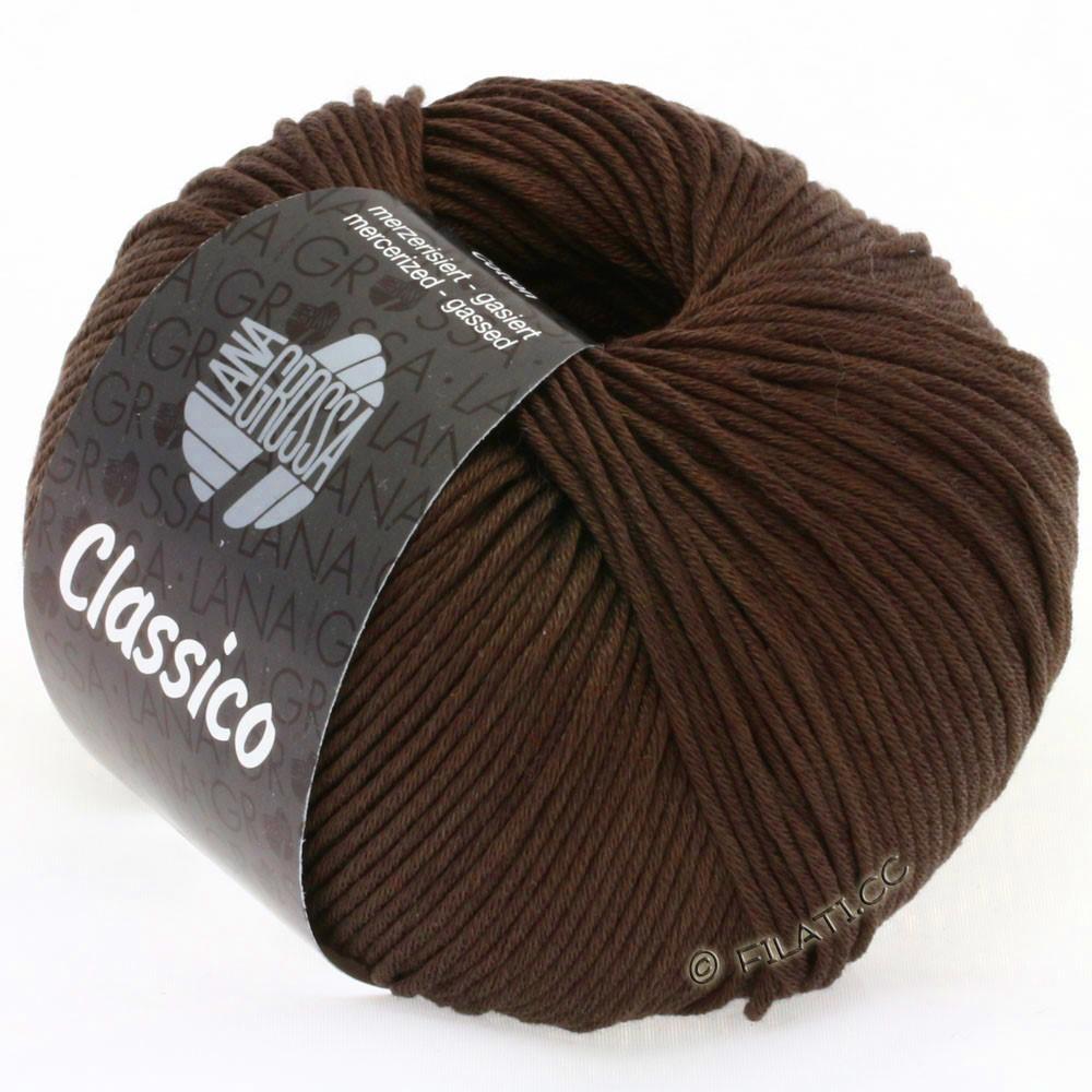 Lana Grossa CLASSICO Uni уни | 07-чёрно-коричневый