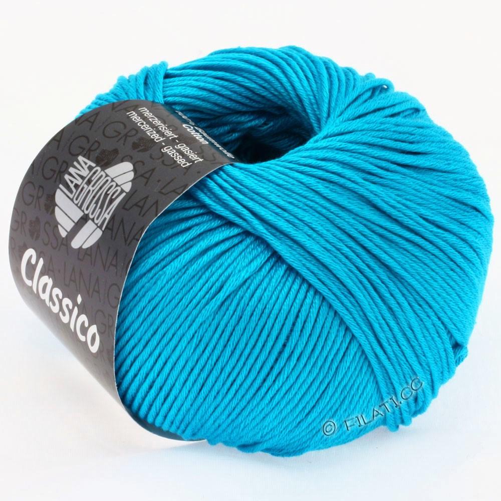 Lana Grossa CLASSICO Uni уни | 14-сине-бирюзовый