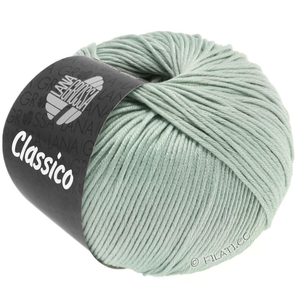 Lana Grossa CLASSICO Uni уни | 38-серо-зеленый