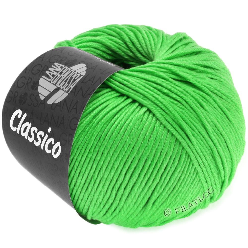 Lana Grossa CLASSICO Uni уни | 44-светящийся-зеленый