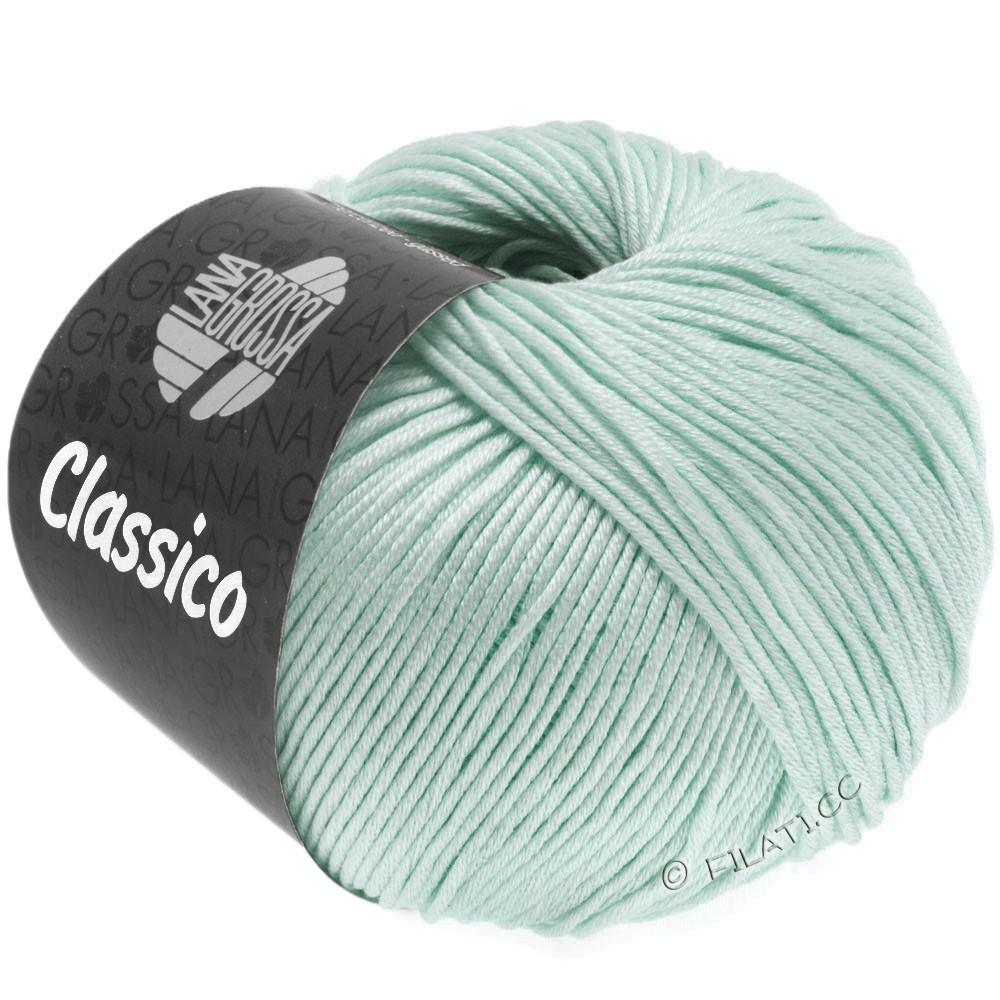 Lana Grossa CLASSICO Uni уни | 45-деликатным зеленый