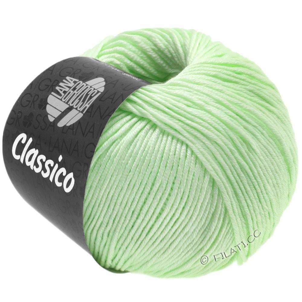 Lana Grossa CLASSICO Uni уни | 52-бледно-зелёный