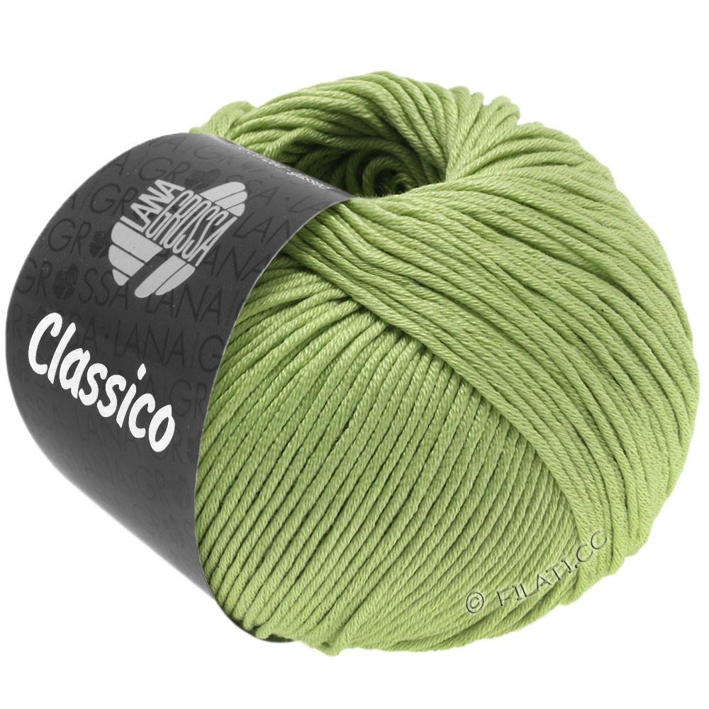 Lana Grossa CLASSICO Uni уни   61-пастельно-зелёный