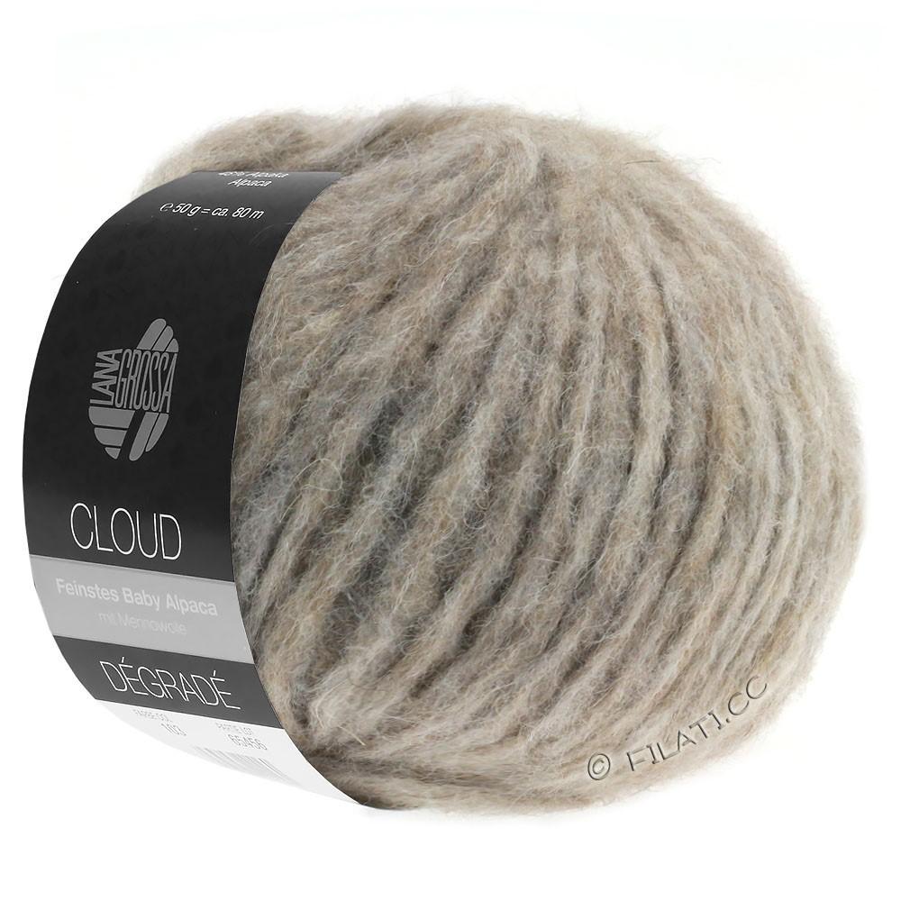 Lana Grossa CLOUD Dégradé | 109-натуральный/серо-коричневый