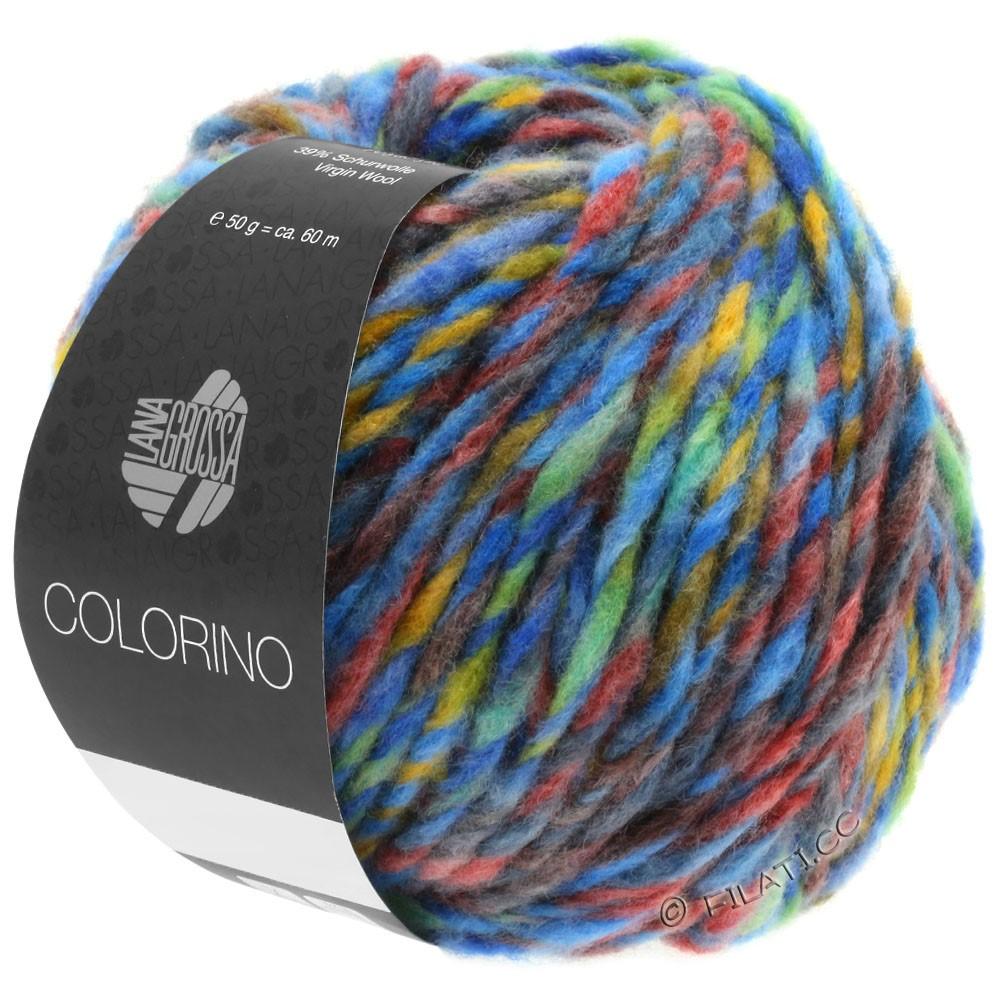 Lana Grossa COLORINO | 07-синий/зелёный/терракотовый/бирюзовый/антрацитовый
