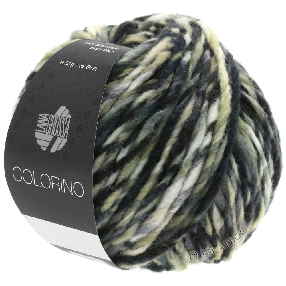 Lana Grossa COLORINO | 12-тёмно-коричневый/бежевый/серый/антрацитовый